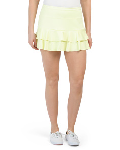 Double Tier Tennis Skirt