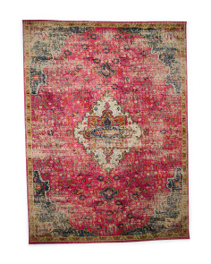 Made In Turkey 8x11 Medallion Area Rug