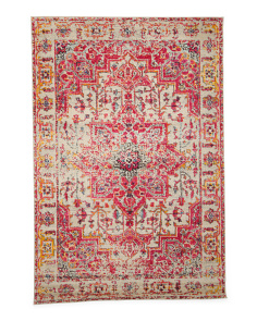 Made In Turkey Vintage Medallion Area Rug