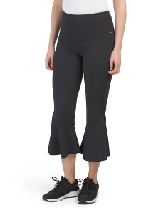 Flared Yoga Crop Leggings