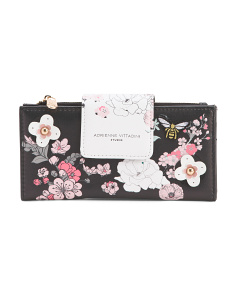 Fold Out Floral Wallet