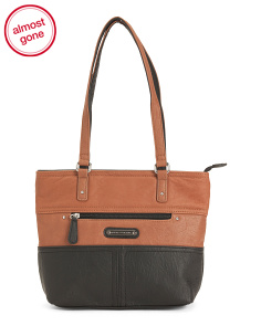 Leather Darby Tote