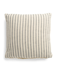 Made In India 20x20 Stripe Pillow