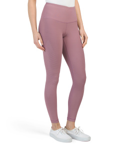 Ankle Length Horizontal Lines Leggings
