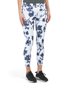 High Waist Floral Printed Leggings