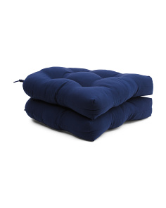 20x20 2pc Outdoor Tufted Cushions
