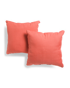 18x18 2pk Indoor Outdoor Pillows