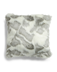 20x20 Askov Faux Fur Pillow