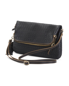 Rodeo Aphra Woven Leather Bag