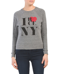 Made In Usa Rock Ny Crew Sweatshirt