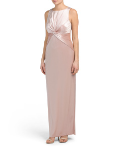 Sleeveless Long Gown