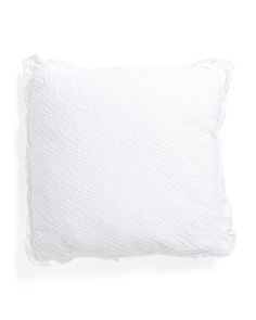 Made In Portugal 26x26 Ruffle Euro Pillow