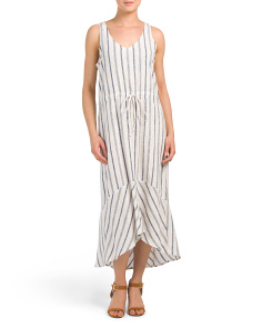 Linen Blend Callie Dress