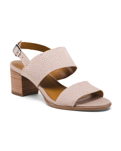 650d651be92 Leather Double Strap Sandals ...