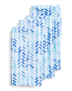 4pk Indoor Outdoor Chevron Napkins