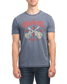 Nashville Guitars Short Sleeve Tee