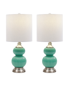 Set Of 2 Accent Lamps