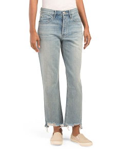 Made In Usa High Waist W3 Higher Ground Cropped Jeans