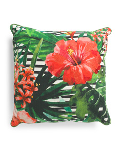 Made In India 20x20 Bright Print Pillow