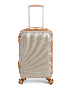 22in Pagoda 8 Wheel Expander Suitcase