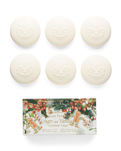 6pk Ginger & Vanilla Soap Set