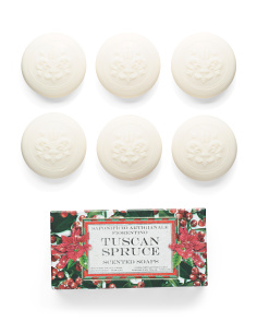6pk Tuscan Spruce Soap Set