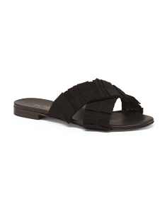 Made In Italy Crossband Sandals