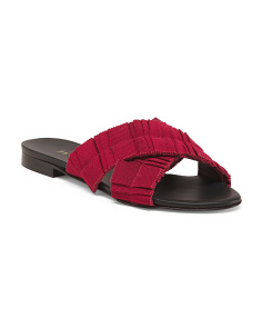 da4cd131f2595 Made In Italy Crossband Sandals ...