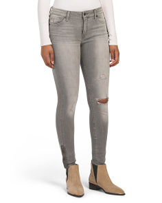 Ava Mid Rise Super Skinny Jeans
