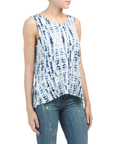 Sleeveless Scoop Tank