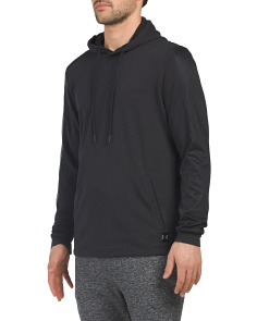 Microthread Terry Pullover Hoodie