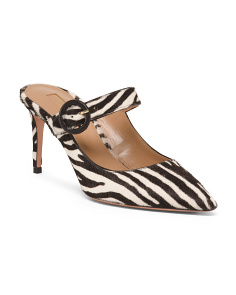 Made In Italy Animal Print Pumps