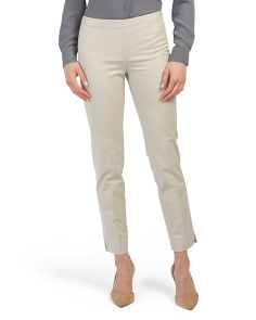 Petite Metropolitan Stretch Bleecker Pants