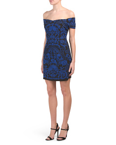 Betina Embroidered Lace Dress