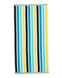 Lanikai Stripe Beach Towel