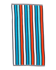 Lanikai Striped Beach Towel