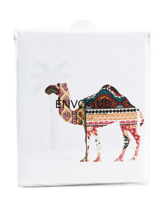 Sahara Camel Shower Curtain