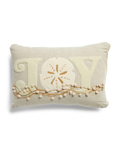 Made In India 14x20 Coastal Joy Pillow