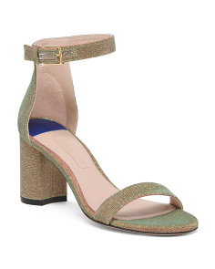 Made In Spain Block Heel Sandals
