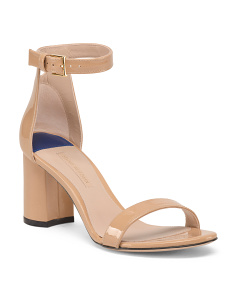 Made In Spain Patent Leather Sandals