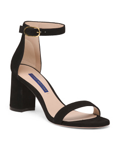 Made In Spain Suede Sandals