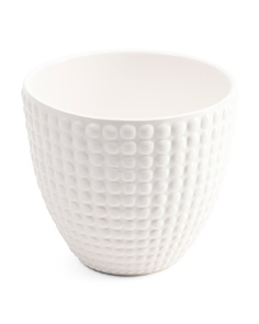 Made In Portugal Indoor Outdoor Small Dot Planter