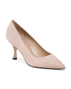 Made In Spain Suede Pumps