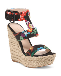 Made In Spain Wedge Sandals