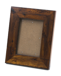 5x7 Acacia Wood Wendy Photo Frame