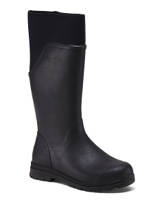 Waterproof Knee High Rain Boots