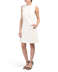 Vent Front Shift Dress