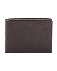 Made In Italy Leather Luxury Wallet