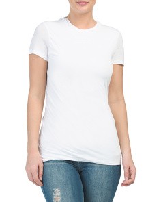 Pima Cotton Drape Twist Tee