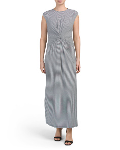 baa8bb28bcb Knot Front Midi Dress ...